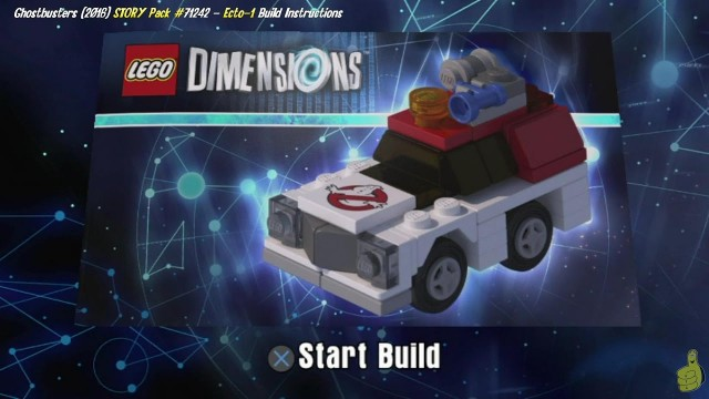 Lego Dimensions: Ecto-1 (2016) / Build Instructions (Ghostbusters STORY Pack #71242) – HTG