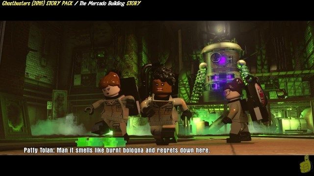 Lego Dimensions: Ghostbusters (2016) / The Mercado Building STORY – HTG
