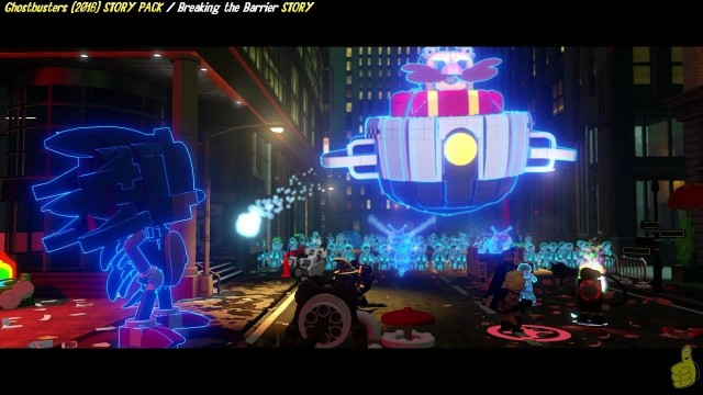 Lego Dimensions: Ghostbusters (2016) / Breaking The Barrier STORY – HTG