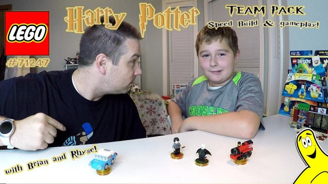 Lego Dimensions: Harry Potter Team Pack #71247 Unboxing, Speed Build & Gameplay – HTG
