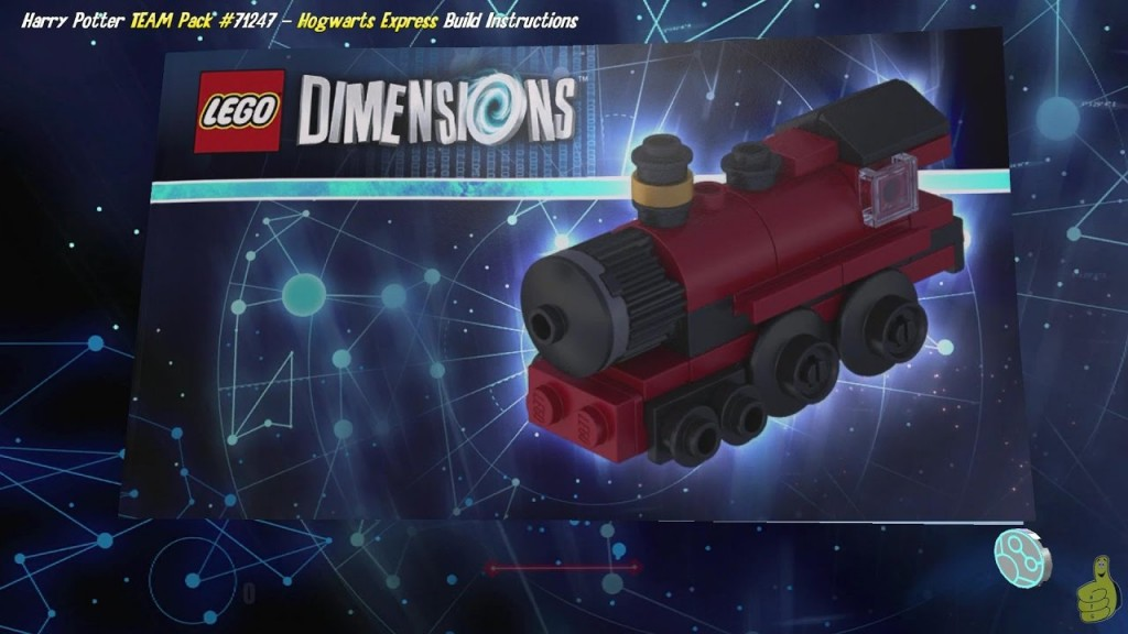 Lego Dimensions Hogwarts Express Build Instructions Harry Potter