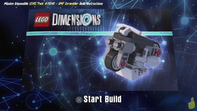 Lego Dimensions: IMF Scrambler / Build Instructions (Mission Impossible LEVEL Pack #71248) – HTG