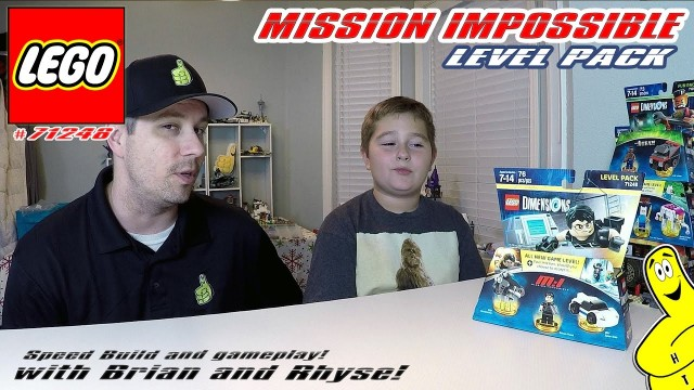 Lego Dimensions: Mission Impossible Level Pack #71248 Unboxing, Speed Build & Gameplay – HTG