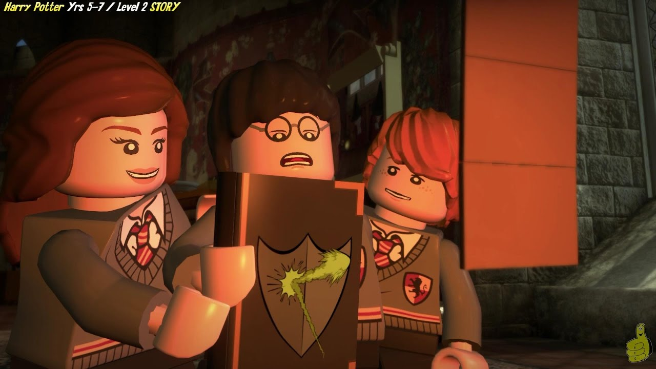 Lego Harry Potter Years 5-7: Level 2 / Dumbledore's Army STORY – HTG