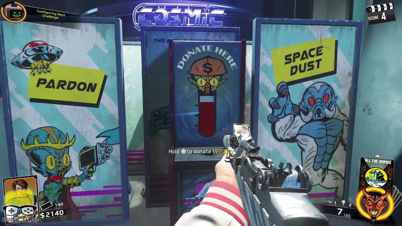 Dougie Plays:  COD Infinite Warfare (Building Stuff in Zombies in Spaceland) (PS4) – HTG
