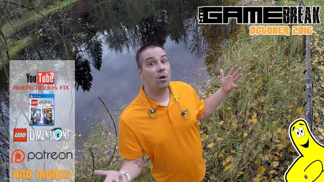 Gamebreak: October 2016 with Brian (almost LIVE from The Pond) – HTG