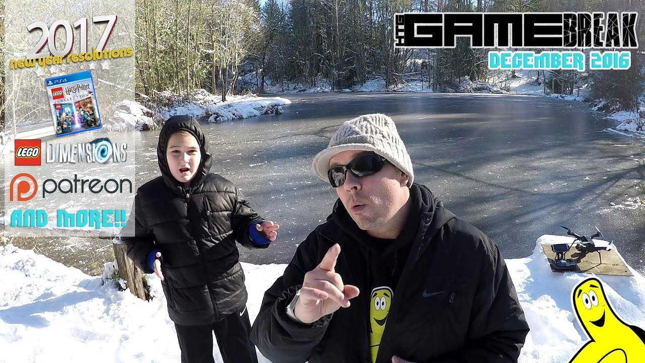 Gamebreak: December 2016 with Brian & Rhyse (almost LIVE from The Pond yet again!) – HTG