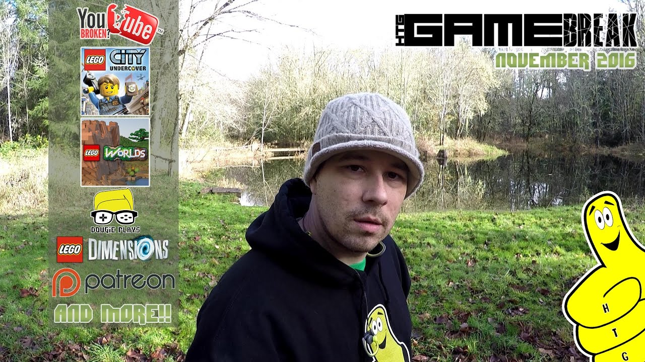 Gamebreak: November 2016 with Brian (almost LIVE from The Pond again!) – HTG