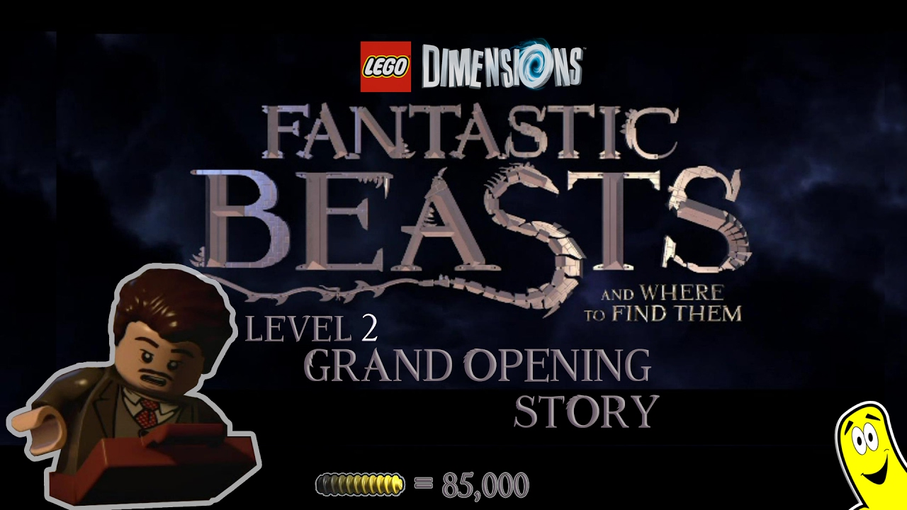 Lego Dimensions: Fantastic Beasts / Grand Opening STORY – HTG