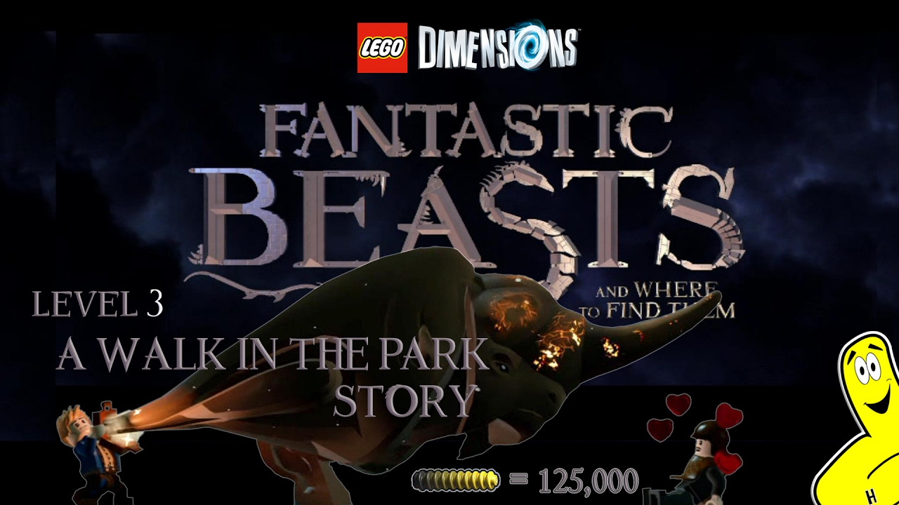 Lego Dimensions: Fantastic Beasts / A Walk in the Park STORY – HTG