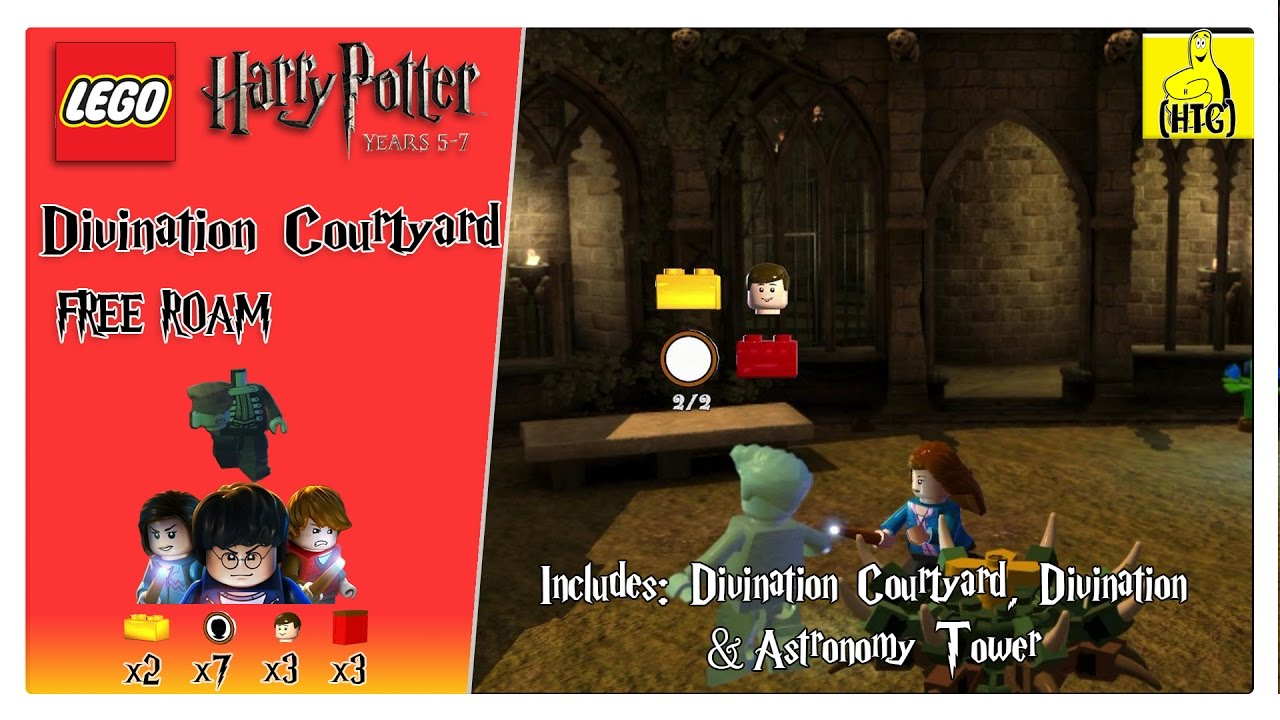 Lego Harry Potter 5-7: Divination Courtyard FREE ROAM (All Collectibles) – HTG