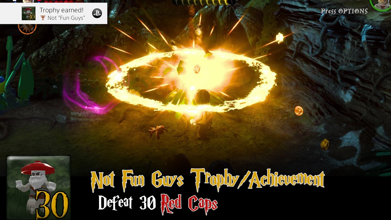 "Lego Harry Potter 5-7: ""Not Fun Guys"" Trophy/Achievement – HTG"