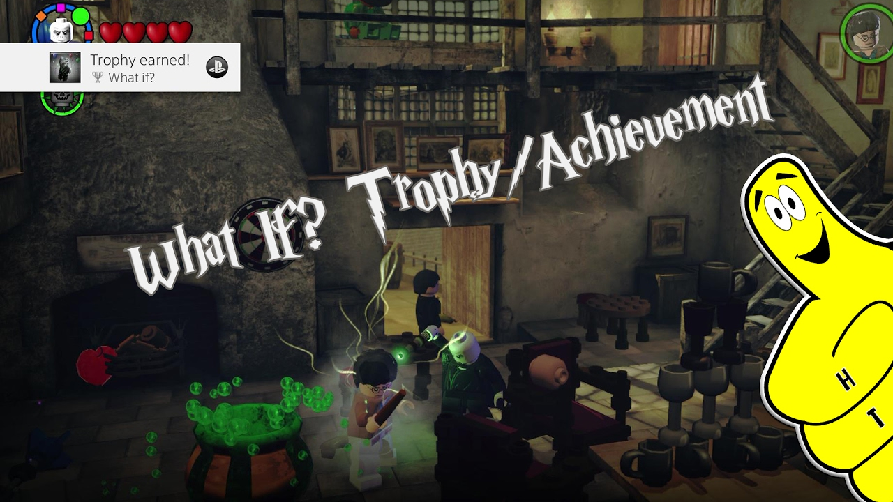 "Lego Harry Potter 5-7: ""What If?"" Trophy/Achievement – HTG"