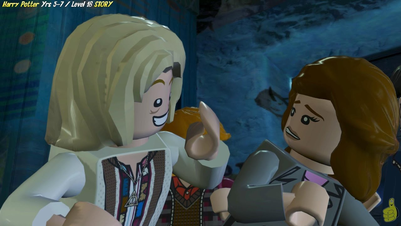 Lego Harry Potter Years 5-7: Level 17 / Lovegood's Lunacy STORY – HTG