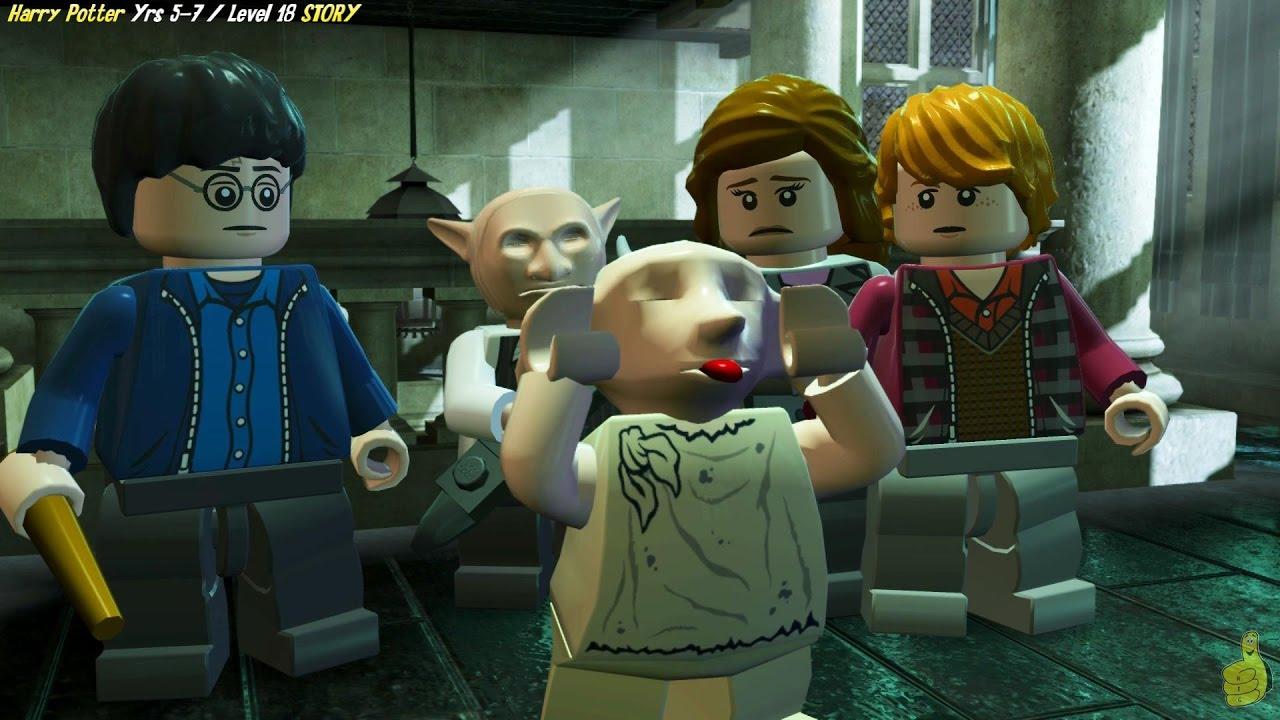 Lego Harry Potter Years 5-7: Level 18 / Dobby! STORY – HTG