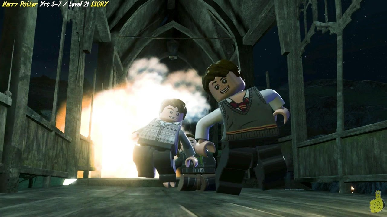 Lego Harry Potter Years 5-7: Level 21 / Burning Bridges STORY – HTG