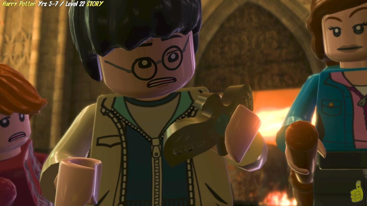 Lego Harry Potter Years 5-7: Level 22 / Fiendfyre Frenzy STORY – HTG