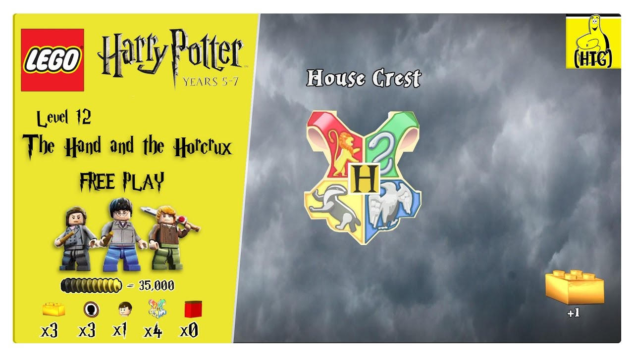 Lego Harry Potter Years 5-7: Lvl 12 / The Horcrux and the Hand FREE PLAY (All Collectibles) – HTG