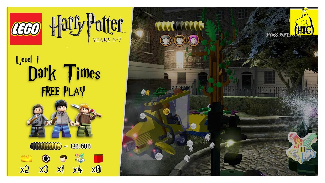 Lego Harry Potter Years 5-7: Lvl 1 / Dark Times FREE PLAY (All Collectibles) – HTG