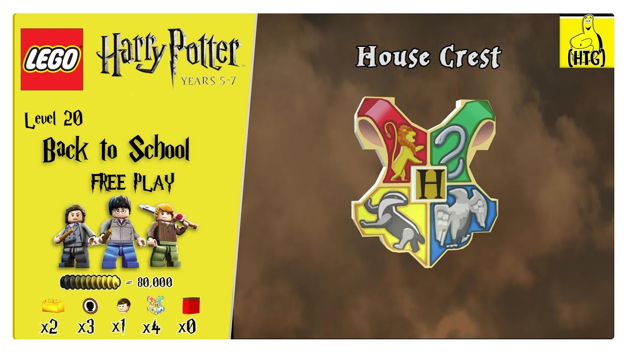 Lego Harry Potter Years 5-7: Lvl 20 / Back to School FREE PLAY (All Collectibles) – HTG