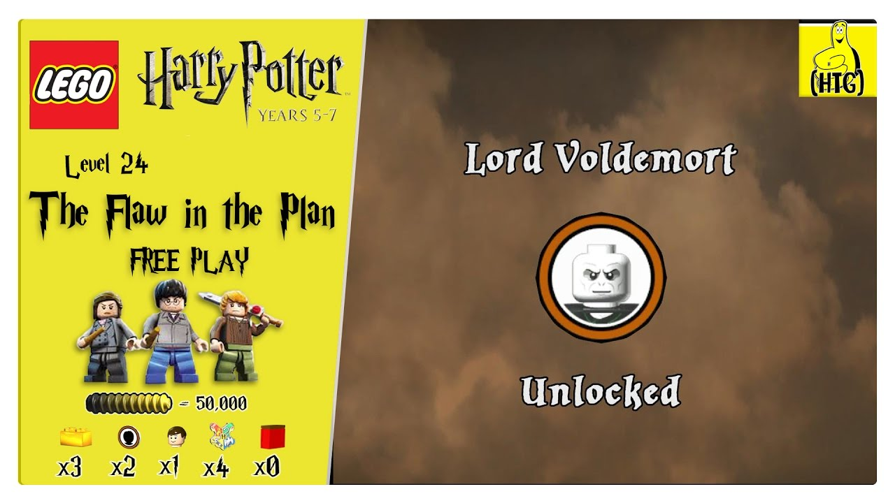 Lego Harry Potter Years 5-7: Lvl 24 / The Flaw in the Plan FREE PLAY (All Collectibles) – HTG