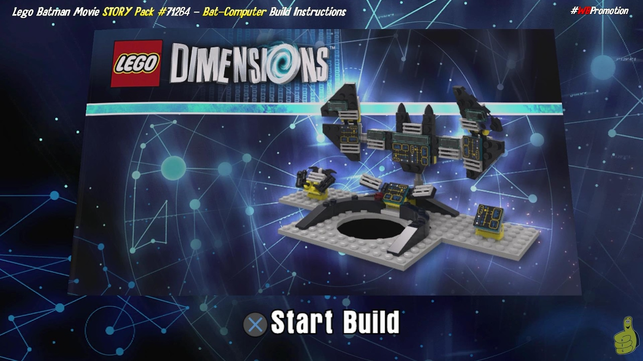 Lego Dimensions: Bat-Computer / Build Instructions (Lego Batman Movie STORY Pack #71264) – HTG