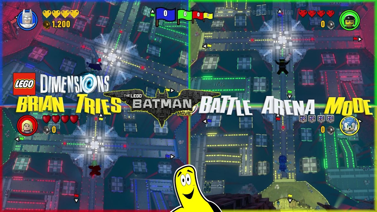 Lego Dimensions: Brian Tries Lego Batman Movie Battle Arena Mode – HTG