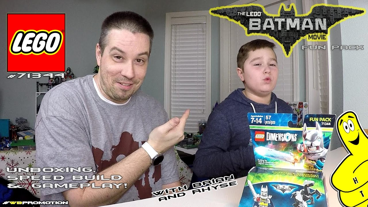 Lego Dimensions: Excalibur Batman FUN Pack #71344 Unboxing, Speed Build & Gameplay – HTG