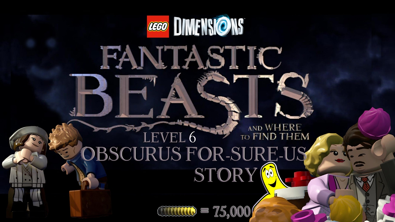 Lego Dimensions: Fantastic Beasts / Obscurus For-Sure-Us STORY – HTG