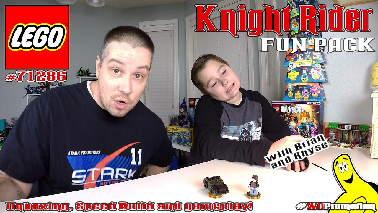 Lego Dimensions: Knight Rider FUN Pack #71286 Unboxing, Speed Build & Gameplay – HTG