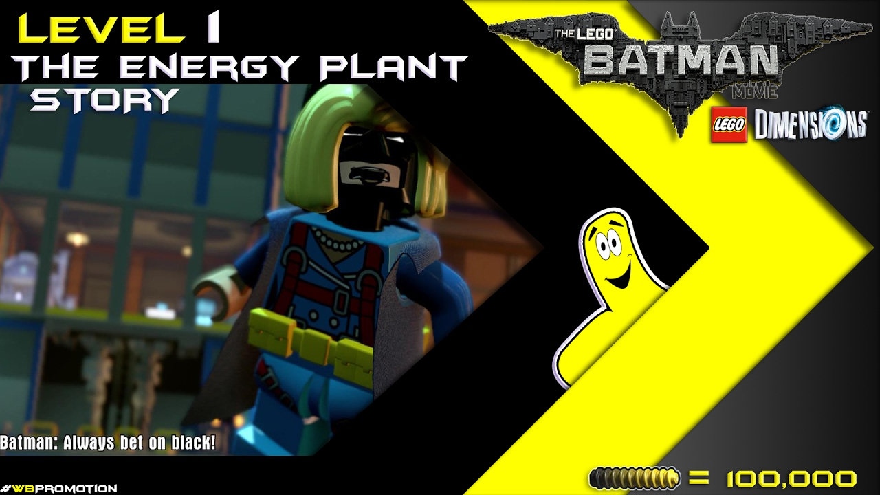 Lego Dimensions: Lego Batman Movie / The Energy Plant STORY – HTG