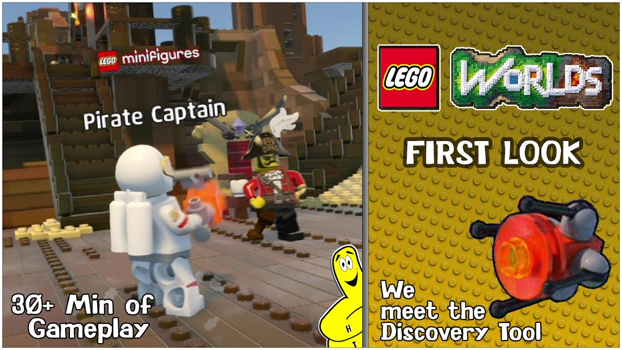 Lego Worlds: First Look w/ Brian (30+ Min of Gameplay) – HTG