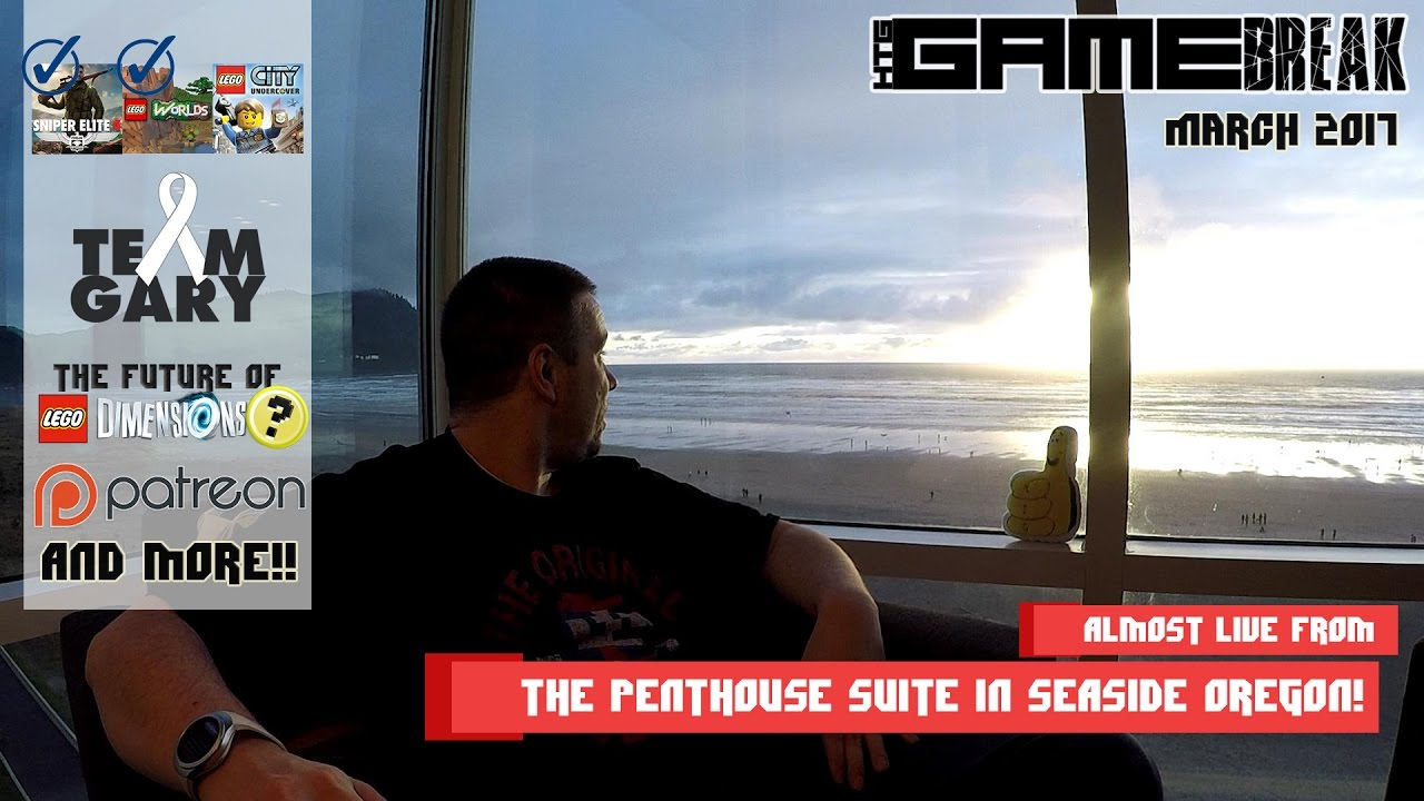 Gamebreak: March 2017 with Brian (Almost Live from Seaside Oregon) – HTG