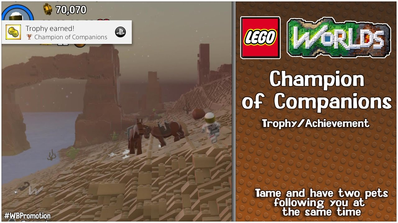 "Lego Worlds: ""Champion of Companions"" Trophy/Achievement – HTG"
