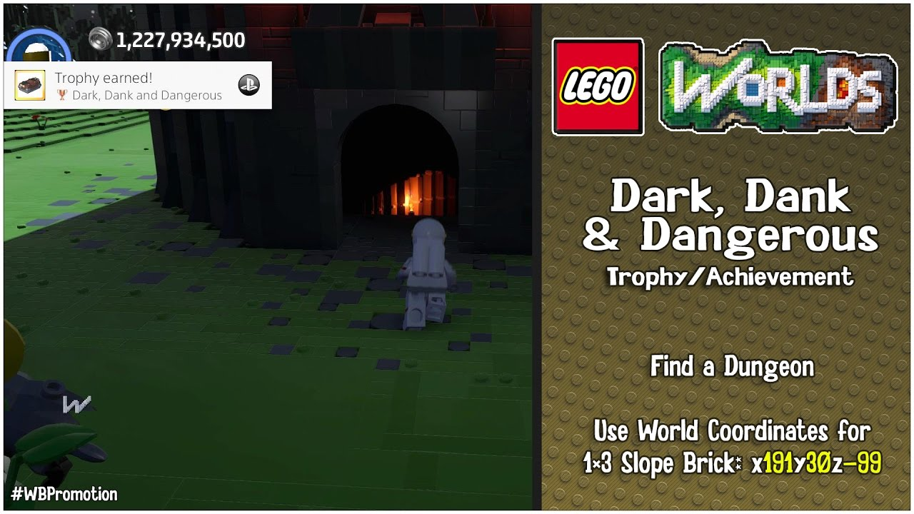 "Lego Worlds: ""Dark, Dank and Dangerous"" Trophy/Achievement – HTG"