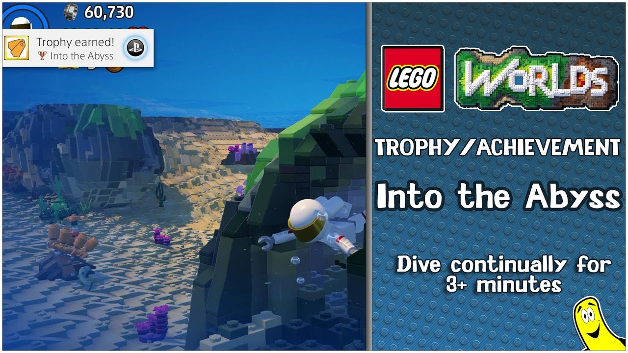"Lego Worlds: ""Into The Abyss"" Trophy/Achievment – HTG"