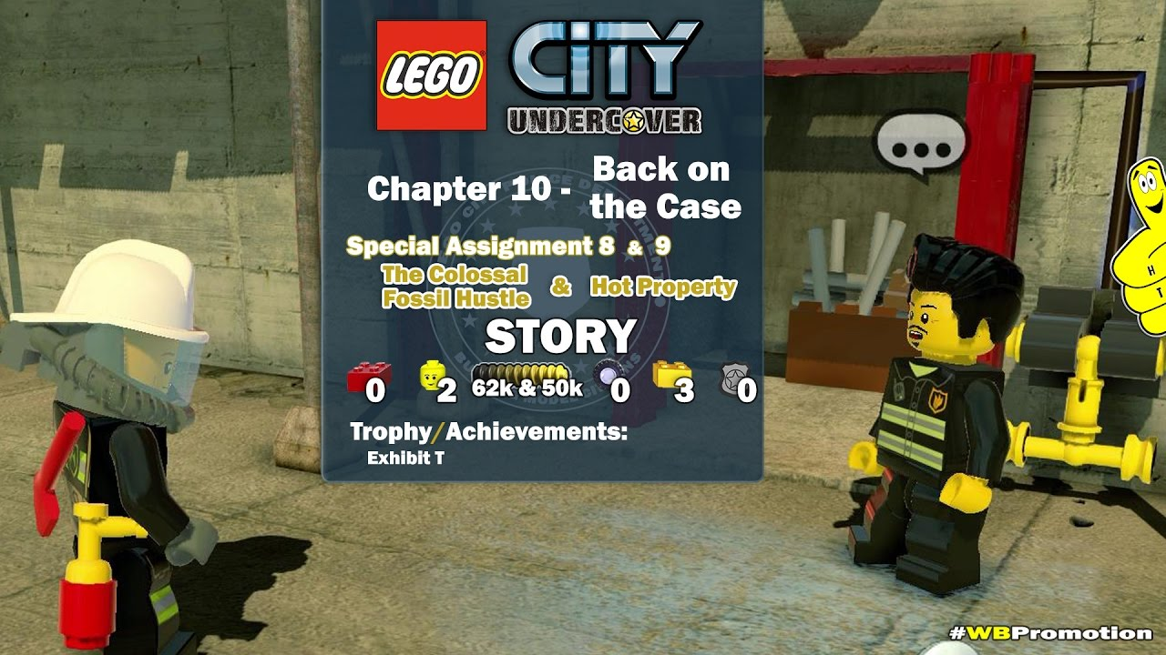 Lego City Undercover: Chapter 10 Back on the Case / Special Assignments 8 & 9 STORY – HTG