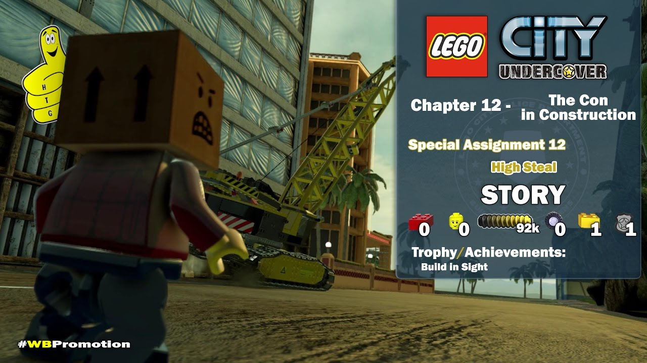 Lego City Undercover: Chapter 12 The Con in Construction / Special Assignments 12 STORY – HTG