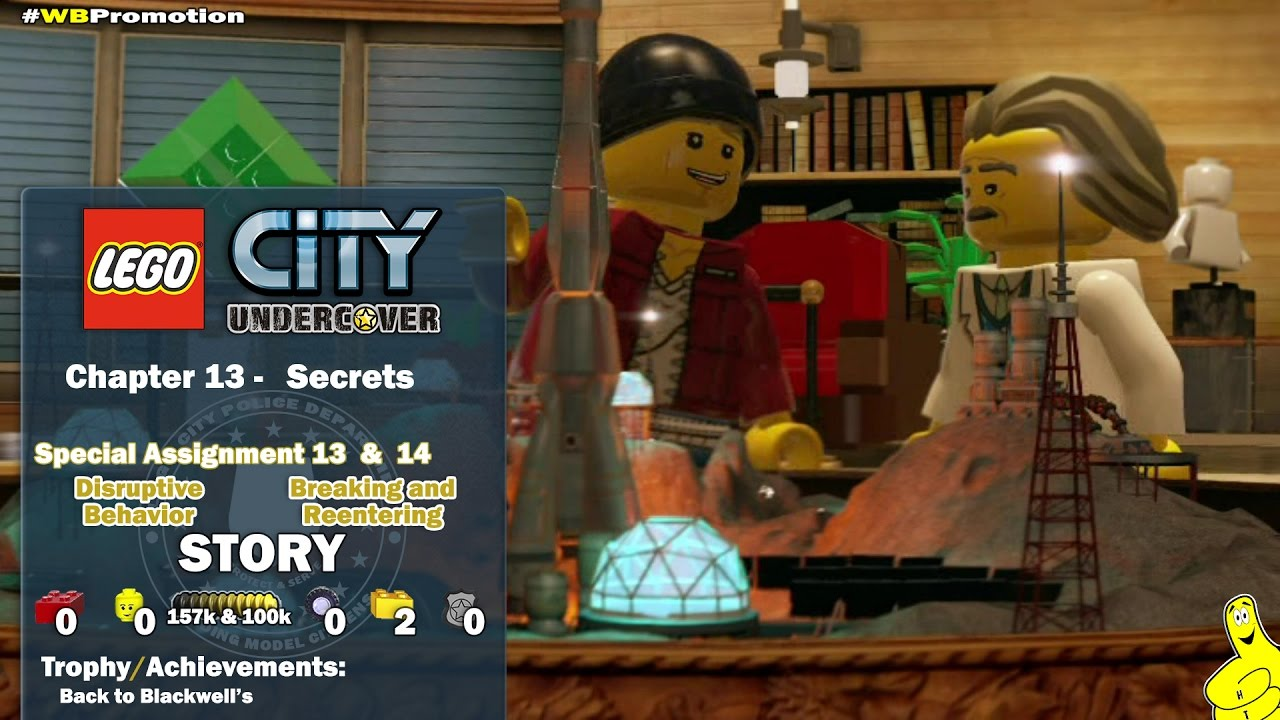 Lego City Undercover: Chapter 13 Secrets / Special Assignments 13 & 14 STORY – HTG