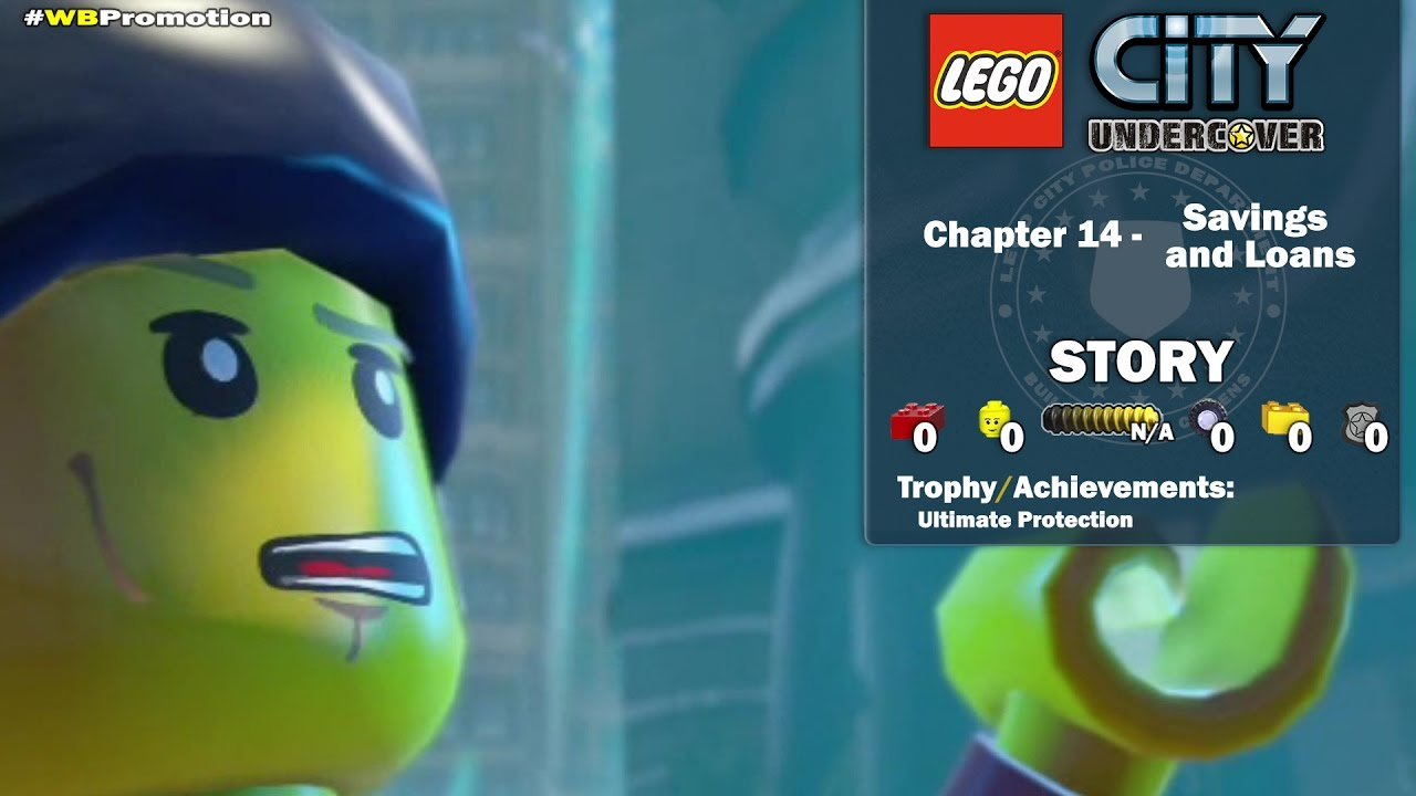 Lego City Undercover: Chapter 14 Savings and Loans STORY – HTG