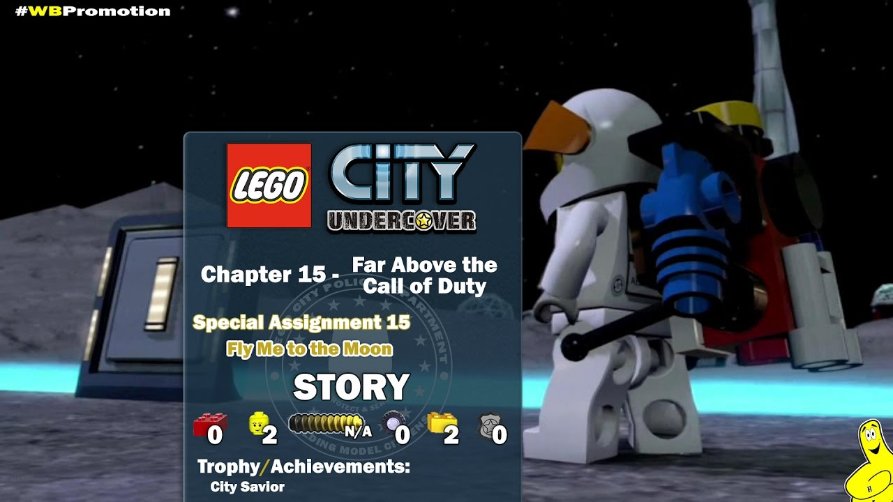 Lego City Undercover: Chapter 15 Far Above the Call of Duty / Special Assignment 15 STORY – HTG