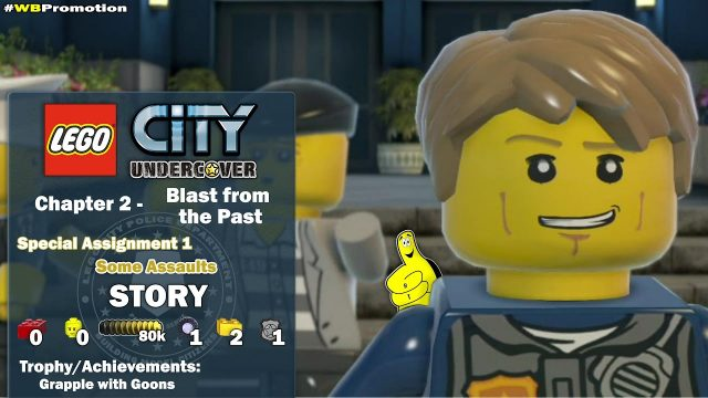 Lego City Undercover: Chapter 2 Back to the Past / Special Assignment 1 STORY – HTG