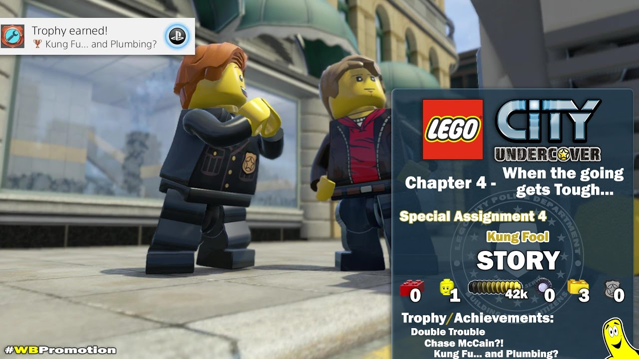 Lego City Undercover: Chapter 4 When the Going Gets Tough / Special Assignment 4 STORY – HTG