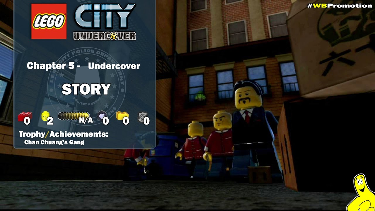 Lego City Undercover: Chapter 5 Undercover STORY – HTG