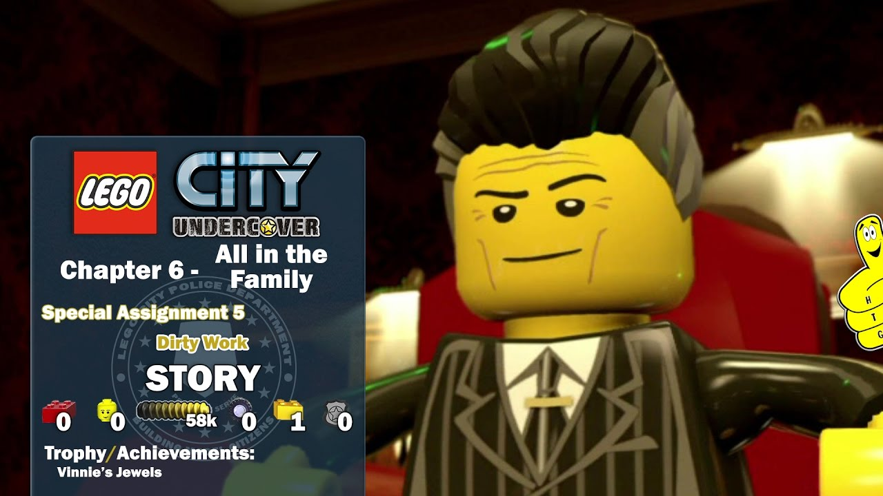 Lego City Undercover: Chapter 6 All in the Family / Special Assignment 5 STORY – HTG