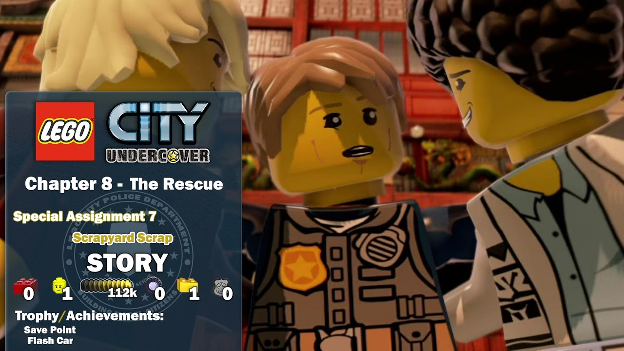 Lego City Undercover: Chapter 8 The Rescue / Special Assignment 7 STORY – HTG