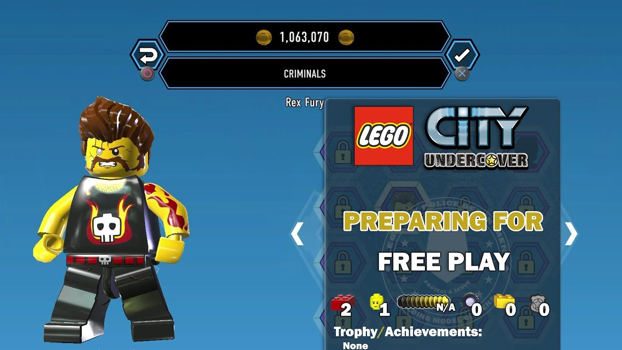 Lego City Undercover: Preparing For FREE PLAY – HTG