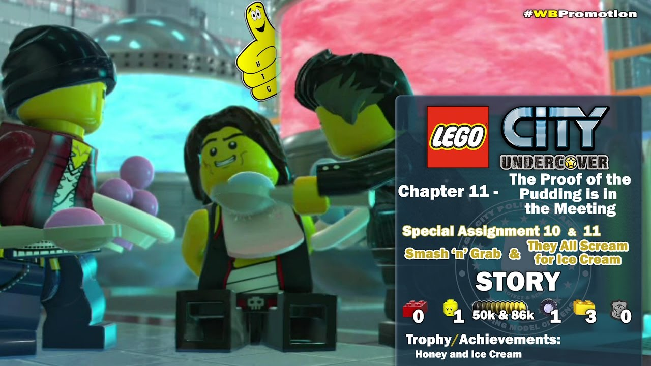 Lego City Undercover:Chap 11 Proof of the Pudding is in the Meeting/Special Assign 10 & 11 STORY-HTG