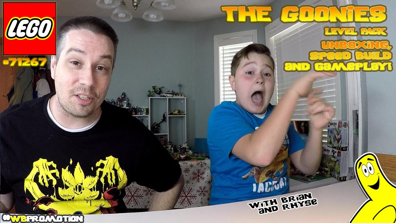 Lego Dimensions: The Goonies LEVEL Pack #71267 Unboxing, Speed Build & Gameplay – HTG