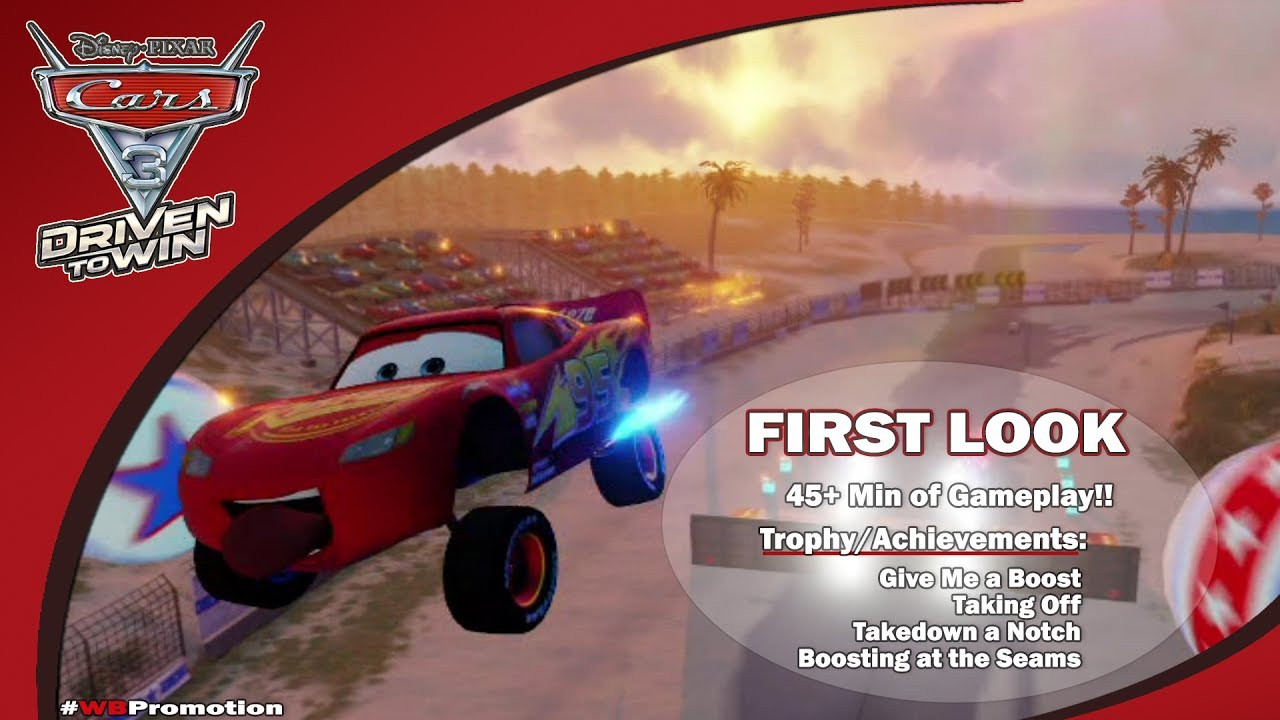 Cars 3 Driven to Win: FIRST LOOK w/ Brian (45+ Min of Gameplay!) – HTG